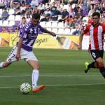 Un gol de Juan Villar en el minuto 42 da la segunda victoria al Valladolid