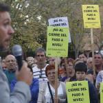 """El paso a nivel de """"La Pilarica"""" se cerrará definitivamente"""