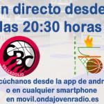 Desde las 20:30 emisión en directo desde Pisuerga