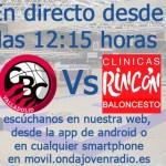 El domingo desde las 12:15 h. BricoDepo CBC Valladolid Vs Fertilidad Clínicas Rincón