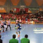 El Puerto Sagunto vence al Recoletas en la última jornada de la primera vuelta (26-24)