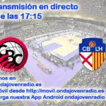 Sigue en directo el Comercial Ulsa Valladolid Vs Torrons Vicens CB L´Hospitalet