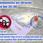Sigue en directo el Comercial Ulsa Valladolid Vs Sammic ISB