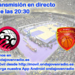 Sigue en directo el Comercial Ulsa Valladolid Vs Basket Navarra