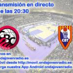 Sigue en directo el Comercial Ulsa Valladolid Vs CB Tarragona 2017