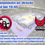 Sigue en directo el Comercial Ulsa Valladolid Vs Coviran Granada