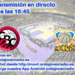 Sigue en directo el Comercial Ulsa Valladolid Vs CB Morón 2º p. PO 1/2