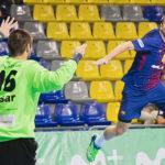Dura derrota del Recoletas Atlético Valladolid ante el FC Barcelona Lassa (39-25)