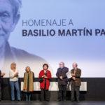 """Homenaje al """"sabio y poético"""" Martín Patino"""