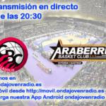 Sigue en directo el Carramimbre CBC Valladolid Vs Sáenz Horeca Araberri