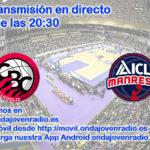 Sigue en directo el Carramimbre CBC Valladolid Vs ICL Manresa