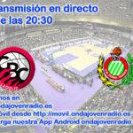 Sigue en directo el Carramimbre CBC Valladolid Vs Levitec Huesca