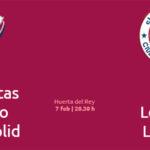 Sigue en directo el Recoletas Atlético Valladolid Vs BM Logroño